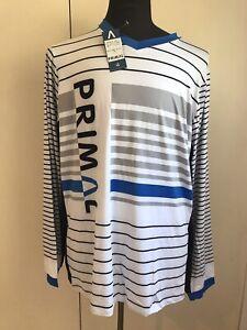 PRIMAL Wear MTB Bike Cycling Jersey SZ 2XL L/S Mountain Bike Shirt