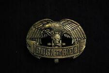Vintage belt buckle, Biker, Eagle, Born to Ride