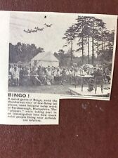 m17c7 ephemera 1964 picture outdoor bingo farnborough air display