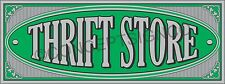 1.5'X4' Thrift Store Banner Outdoor Indoor Sign Resale Shop Furniture Clothes