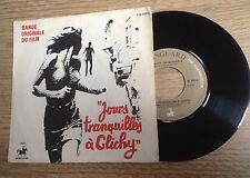 45 tours BOF Jours tranquilles à Clichy Country Joe McDonald EXC