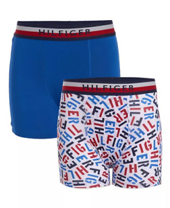 Tommy Hilfiger Boys Boxer Brief Performance, Pack of 2, Choose Color