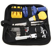 13Pcs/Lot Watch Repair Tool Kit Set Case Opener Link Spring Bar Remover Tweezer