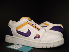 2003 Nike Air Force II 2 Low 1 LA LAKERS WHITE PURPLE DEL SOL GOLD 305602-151 9