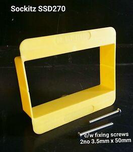 Sockitz Safetyshield Disposable (not yoozybox) 2 Gang 30mm plaster guard x 30no