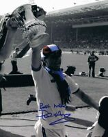 Signed Paul Allen West Ham United FA Cup Final 1980 Autograph Photo
