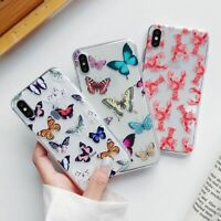Cute Soft Butterfly Case Butterflies Cover for iPhone 12 11 Pro Max XR X XS 8 7