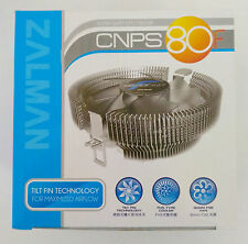 ZALMAN CNPS80F Quiet CPU Heatsink Cooler FAN Intel 775/1150/1155/1156/1151/AMD