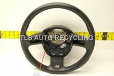 2008 AUDI S6 C6 BLACK LEATHER STEERING WHEEL 4F0419091DH  SHOWS WEAR