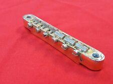 VINTAGE 1965 GIBSON ABR-1 TUNE-O-MATIC GUITAR BRIDGE GOLD LES PAUL SG 1966 1967