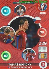 059 TOMAS ROSICKY CESKA REPUBLIKA INVENTIVENESS CARD ADRENALYN EURO 2016 PANINI