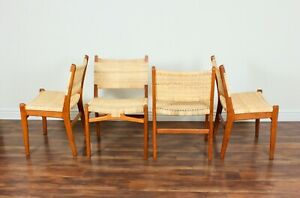 Extremely Rare CH-31 chairs (4pcs) by Hans Wegner