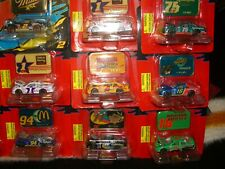 1/64 Racing Champions nascar 1996 & 1997 race cars with diecast emblems