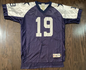 Miles Austin #19 NFL Football Throwback Reebok Jersey Youth Size XL Texas Blue