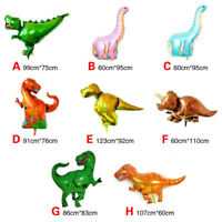 Jurassic Dinosaur Tyrannosaurus Raptor Shape Baby Party Decor Foil Balloons Hot