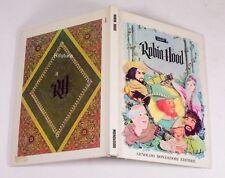 ROBIN HOOD Libro POP-UP i classici animati MONDADORI '69 D.E. Cooke Miller -00E3