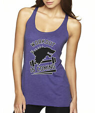 New Way 405 - Women's Tank-Top Workout Is Coming Game Of Thrones Winter Stark