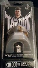 Tapout Adulti Grigio e Oro gumshield età 12 anni + confezione da 2 UFC Paradenti