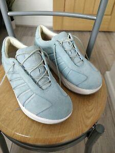 Ladies MBT Wave Aqua blue Trainers - Size 4 (eur37) Never worn