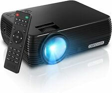 DBPOWER X5 LCD Projector Support 1080p HD Multimedia Home Cinema Smart Home Thea