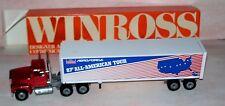 1988 Ford Aeroforce 87 All American Tour Winross Diecast  Trailer Truck