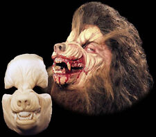Werewolf Halloween Mask Foam Latex Prosthetic Appliance Wolf  Moves with Face