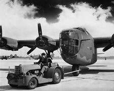 WWII Photo B-24 Liberator Bomber at Factory WW2 World War Two USAAF  / 5040