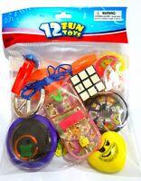 12 PCS Unisex party favor MIX-C Kids Pinata toys souvenirs giveaways gadget gift