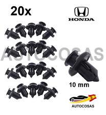 20x 10mm Coche Sujetador Remaches plasticos de autos para Honda