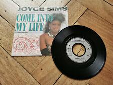 """joyce sims come into my life 7"""" vinyl record"""