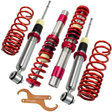 New Suspensions Adj Coilovers Kit For 97-03 BMW E39 5-Series Sedan 1995-2003 Red