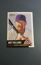 MATT WILLIAMS 2002 TOPPS HERITAGE CARD # 78 A6265