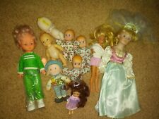 Lot of 11 Mixed Vintage Dolls