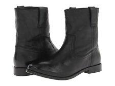 Frye Anna Shortie Black Boots 6 M