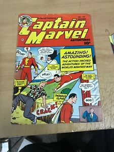 CAPTAIN MARVEL ADVENTURES #127 RIM CHIPPING And Tears See Pics