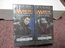 Magic the Gathering M12 Event Deck Illusionary Might & Vampire Onslaught