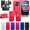 """Alcatel Pixi 4 4"""" 3g 5"""" 3g 4g 6"""" 3g Leather Book Flip Stand Wallet Case Cover"""