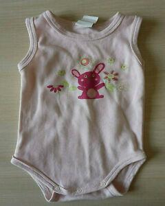 Body rose bébé lingerie grenouillère enfant sous vêtement fille taille 12 mois