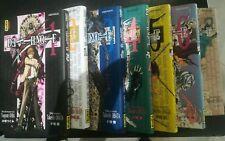 Lot Mangas Death Note - Tomes 1 à 7