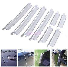 8PCS Moulding Trim Rubber Strip Car Door Scratch Protector Edge Guard Cover