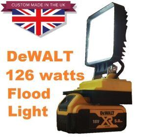 Massive 126 Watt combination DeWALT work floodlight with adjustable angle