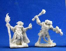 1 x CHEFS KOBOLD - BONES REAPER miniature figurine jdr rpg d&d command leaders