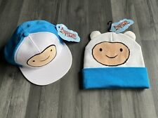 Cartoon Network Adventure Time Finn 🌈 Gorra De Béisbol & Gorro Conjunto Junior 🌈