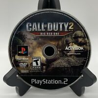 Call of Duty 2 Big Red One PS2 Disc Only Tested Sony PlayStation 2 Ps2 Game Good