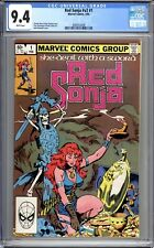 Red Sonja #1 (Vol 2) - CGC Graded 9.4 (NM) 1983  First Issue - Bronze Age