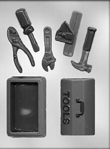 Tool Box and Tools Chocolate Mould / Father's Day Mould