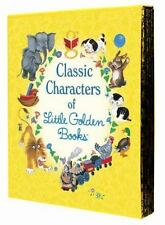 Classic Characters of Little Golden Books by Elizabeth Benedict and Golden...