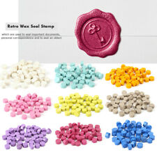 100pcs/Bag Sealing Wax Pill Grains Vintage Wax Seal Stamp Beads Envelope
