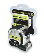 Komelon 81416 PowerBlade Ii 16-Foot Double-Sided Wide Hi-Vis Tape Measure, New