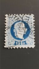 Austria 1867/1880  Usato 25 Kr,EFFIGE  Francesco Giuseppe FRANCOBOLLI